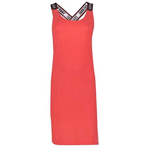 Superdry City Jacquard Bodycon Dress Vestido, Rojo (Hibiscus Qnf), XS (Talla del Fabricante:8) para Mujer