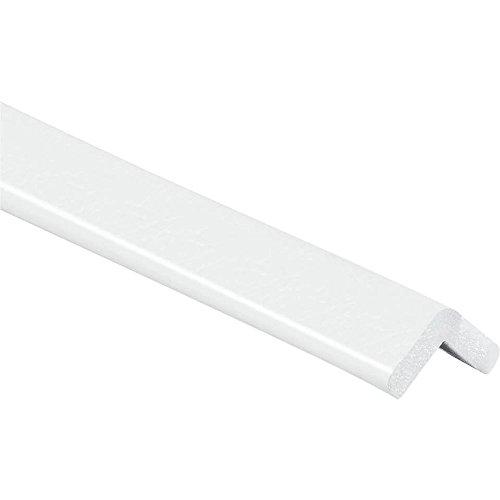 KNUFFI Eckschutzprofil Typ E, selbstklebend, weiß, 1 m aus Kunststoff