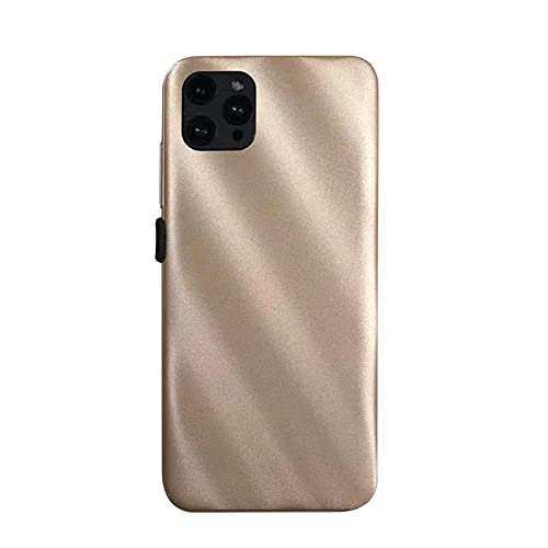Smartphone,2021 New I12 Pro Max 6.8 Inch 3-Camera Android 4G RAM + 32G ROM Dual SIM Call Water Drop Touch Screen Mobile Phone Cell Phone (Gold)