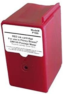 Pitney Bowes Compatible 793-5 Compatible Red Inkjet Cartridge
