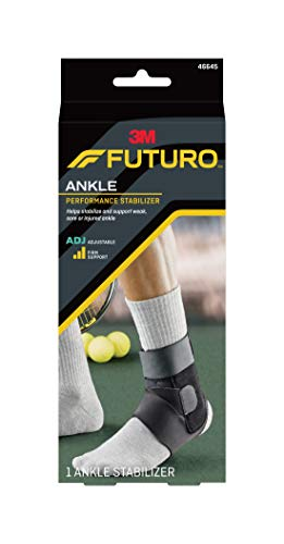 Futuro Sport Deluxe Ankle Stabilizer, Moderate Stabilizing Support, Adjust to Fit