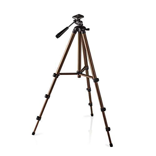 TronicXL 360° Kamerastativ Universal Dreibein Kamera Stativ Aluminium 130cm für DSLR kompatibel mit Canon EOS Nikon Samsung Canyon Rollei Sony Slider lumix G Fotokamera Videostativ Photostativ