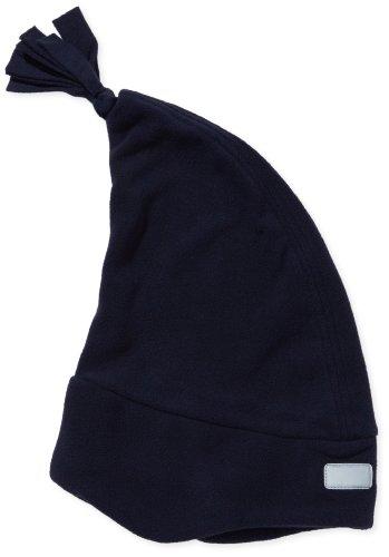 Playshoes Jungen Kinder Fleece Zipfelmütze 422051, Gr. 51, blau (marine)