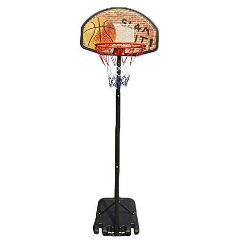 ZAIHW Kids Portable Height-Adjustable Sports Basketball Hoop Backboard System Stand