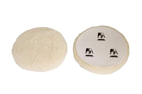 Mirka 7990150111 Lammfellpad Grip, 150 mm, 2 Pro Pack