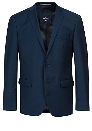 Daniel Hechter - Modern Fit - Herren Baukasten Sakko aus Reiner Schurwolle in blau oder schwarz, meliert (58200-7993), Größe:29, Farbe:Blau (62)