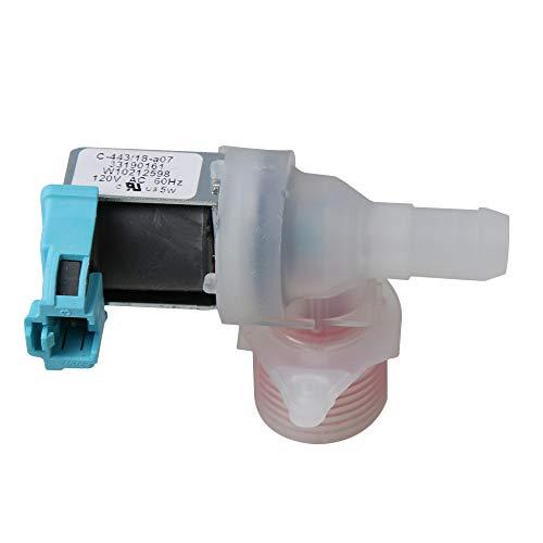 RDEXP Kunststoff und Metall Waschmaschine Wassereinlassventil W10212598 Ersatz Mulitcolor 8.8x6.2x4.6cm
