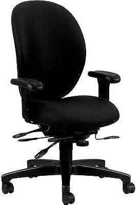 HON Unanimous High-Back Chair, Black CU10