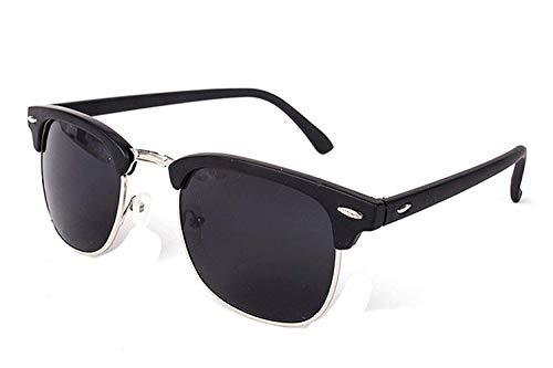 OULN1Y Occhiali da sole Vintage Semi-Rimless Sunglasses Women/Men Polarized Uv400 Classic Retro Sun Glasses