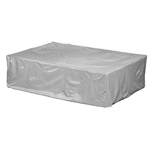 Gartenmöbel Abdeckung / Schutzhülle - Premium Plus Leicht L/XL (250 x 200 x 70 cm) wasserdicht, winterfest, atmungsaktiv - Abdeckplane für Loungemöbel / Ultraleicht / UV- & Frostbeständig