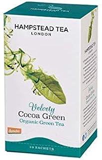 Hampstead Tea London Bio Grüner Tee Samtig Kakao Aromatisiert - 1 x 20 Teebeutel 40 g