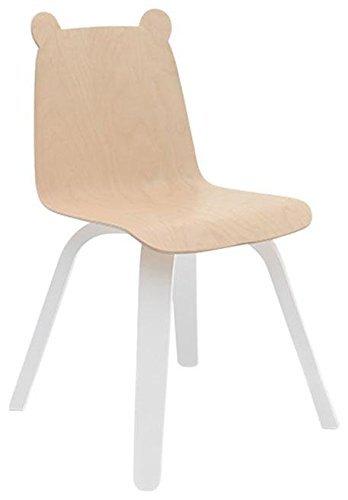 Oeuf Set of 2 Play Chairs- Bear- Birch