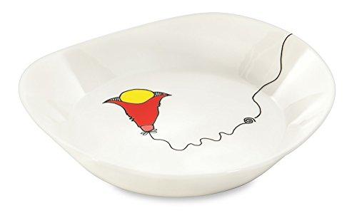 Berghoff 3705004 2 X Assiette à Soupe par Codriez, Porcelaine Vernie, Décoré, 20 x 19 x 4 cm