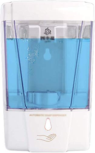 Badkameraccessoires Zeep dispenser700ML Automatische Inductie Fast zeepdispenser Shower Gel Shampoo for wandmontage Badkamer Zeepdispenser Elimineer afval (Kleur: Wit, Maat: 16,5 * 11cm)