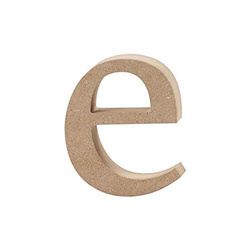 Lettre, h: 8,4 cm, MDF, e, 1pièce