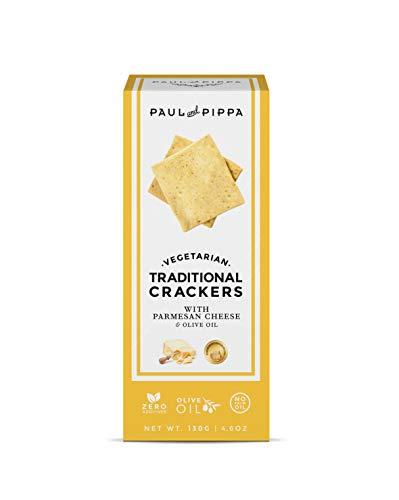 Crackers de parmesano gourmet
