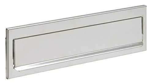 Arregui C-601 Bocacartas de Acero, Inoxidable, 23 x 3 cm