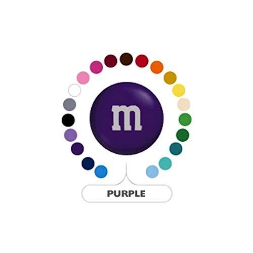 M&M's Purple Milk Chocolate Candy 1LB Bag
