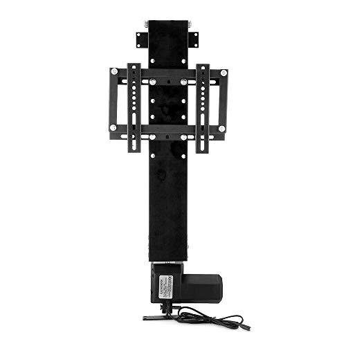 FETCOI Soporte para TV eléctrico, altura regulable, para televisores de 14 a 32 pulgadas + RF 500 mm, color negro