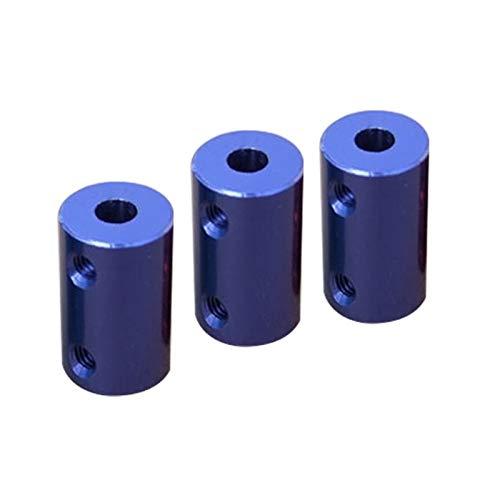 Basic Cellphone Cases Piezas CNC Acoplador 1pc Azul Azul Azul Aleación de Aluminio D14 L25 Eje para El Acoplamiento del Eje del Motor (Inner Diameter : 5 8mm)