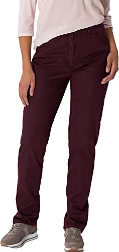 Raphaela by Brax Damen Corry Fame | Comfort Plus Jeans Hose, Rot (Purple 83) , W29/L32 (Herstellergröße: 38)