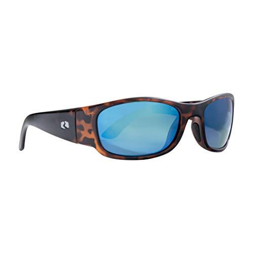 Rheos Bahias Small Sport Style Floating Polarized Sunglasses | 100% UV Protection | Floatable Shades | Ideal for Fishing and Boating | Anti-Glare | Unisex | Tortoise | Marine