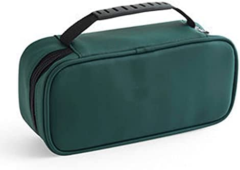 YYOU Special sale Baltimore Mall item Travel Toiletry Bag Double-Layer Metal Zipper Waterproof