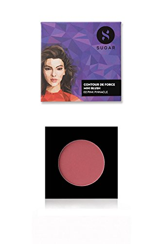 SUGAR Cosmetics Contour De Force Mini Blush - 02 Pink...