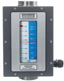 Hedland Flow Meters (Badger Meter Inc) H600A-005-F1 - Flow Rate Hydraulic Flow Meter - 5 gpm Max Flow Rate, SAE-10 1/2 in Port Size