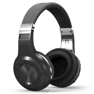Auriculares inalámbricos en la oreja, con 40 horas de reproducción, auriculares Bluetooth inalámbricos con micrófono