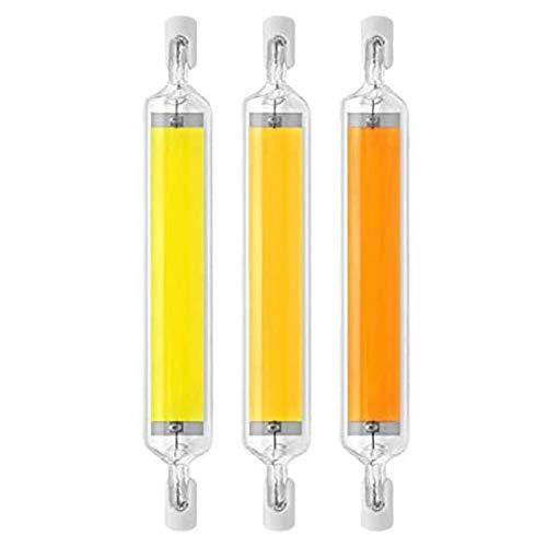MJLXY R7S LED Birne Dimmbar 20W 118Mm R7S LED Halogenlampe 360° Für Landschaftsleuchten Sicherheitsleuchten,3 STK