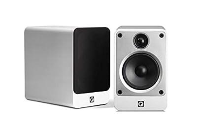Q Acoustics Concept 20 Bookshelf Speakers (Pair) (Gloss White) by Q Acoustics