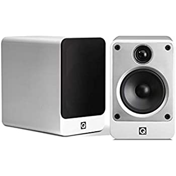 Q Acoustics Concept 20 Compact Bookshelf Speaker Pair (White)
