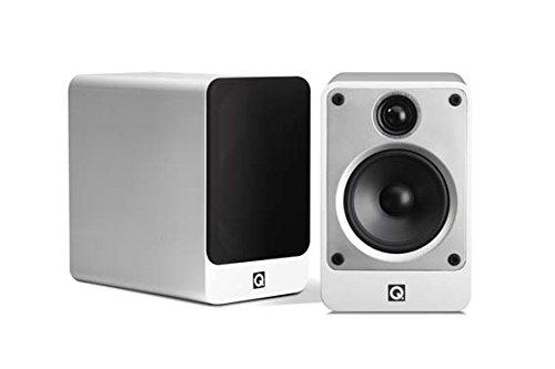 New Q Acoustics Concept 20 Compact Bookshelf Speaker Pair (White)