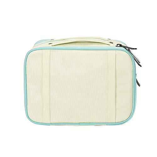 Jian E Sac de cosmétique Wash Cosmetics Storage Bag Portable Travel Lady Boîte de finition multifonctions de grande capacité (Couleur : B)