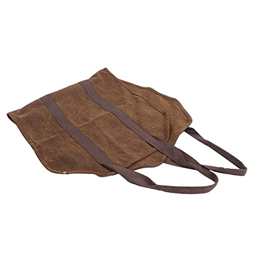 Sacola para lenha, design perfeito Fácil de armazenar Sacola multifuncional para lareira dobrável para piquenique para acampamento