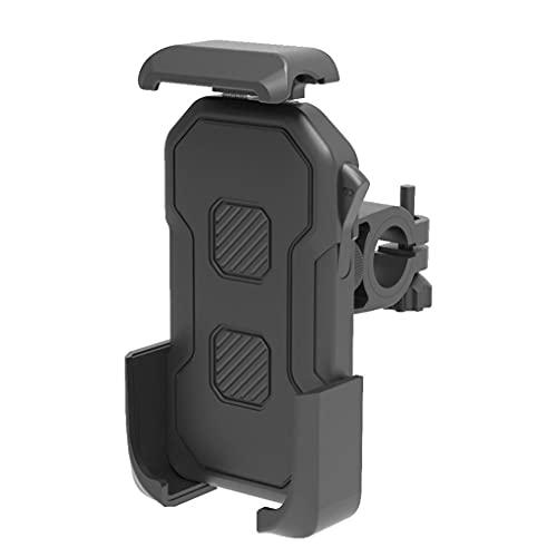 Montaje del teléfono móvil Compatible con la Motocicleta Piaggio Beverly 350, Soporte para teléfono Adecuado para HANDERBAR Y Espejo, Smartphone de 4.5-7 Pulgadas (Size : A)