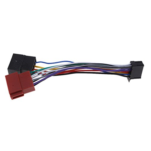 Almencla 16 pinos ISO Fêmea Cabo de substituição para cabos Pioneer