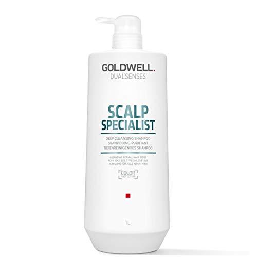 Goldwell Dualsenses Scalp Specialist Deep Cleansing Shampoo, 1er Pack (1 x 1 l)