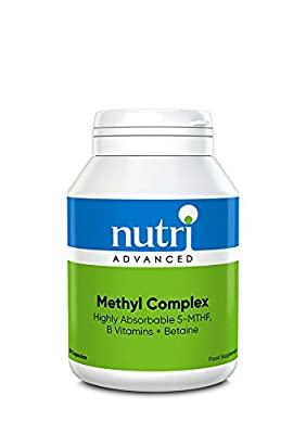 Methyl Complex - 90 Capsules by Nutri Advanced - with B Vitamins & Betaine for Cardiovascular Health by Nutri Advanced
