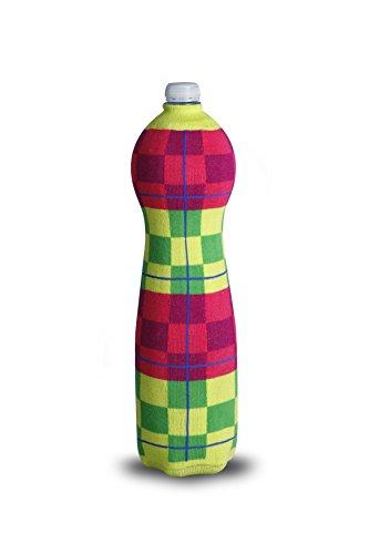 Thebodyb Multicolor Chess Flaschenüberzieher, Stoff, Lime