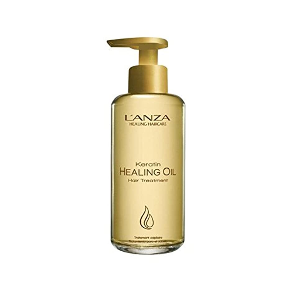 ながらダイジェスト便利さL'Anza Keratin Healing Oil Hair Treatment (185ml) (Pack of 6) - アンザケラチンオイルヘアトリートメント(185ミリリットル)を癒し x6 [並行輸入品]