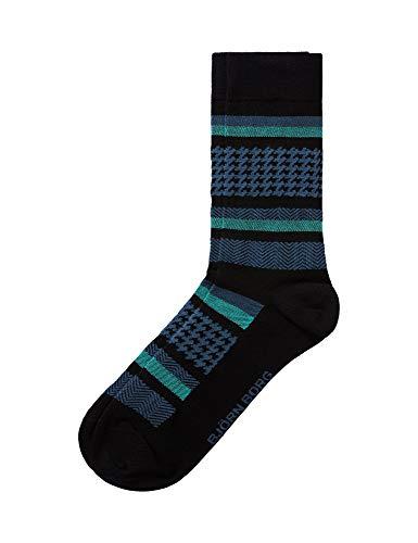 Bjorn Borg Men's Bb Checks Socks Unisex Black in size 41-45