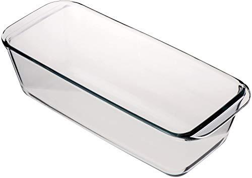 takestop® Molde rectangular de cristal antiadherente Plumcake para tartas de postres, 310...