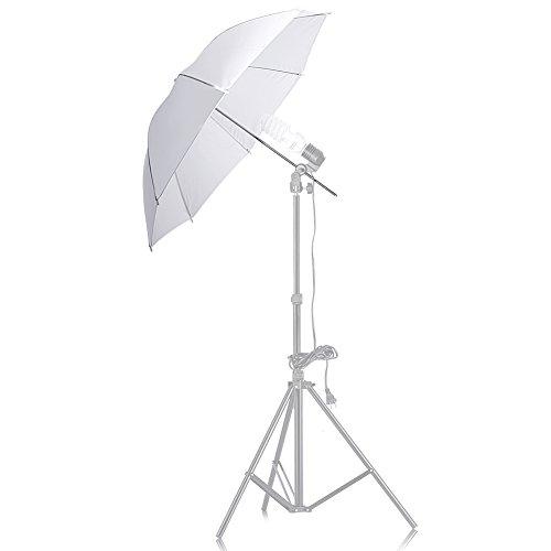 TOOGOO(R) 33 Pulgadas Paraguas Translucido Blanco para Flash de Estudio