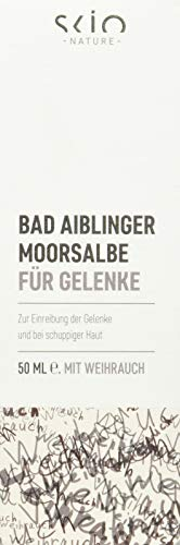 SCIO Bad Aiblinger Moorsalbe für Gelenke, BDIH-konform, 50 ml