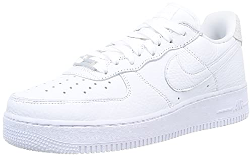 Nike Air Force 1 '07 Craft, Zapatillas de bsquetbol Hombre, White White Summit White Vast Grey, 52.5 EU