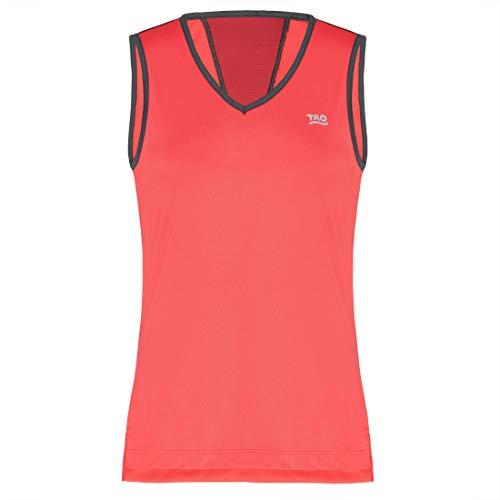 TAO Sportswear AUSTRA T-shirt fonctionnel sans manches pour femme, Fragola., 44