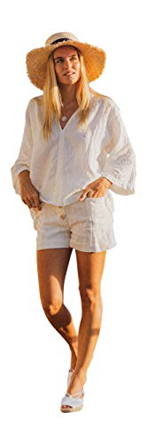 A Peace of Ibiza Athini blouse, katoen, eenheidsmaat