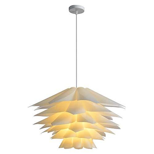 Lampadario Con Paralume Fai-da-te, Lampadario Lotus, Con Kit Di Installazione, Diametro 45 Cm, 48 Pz